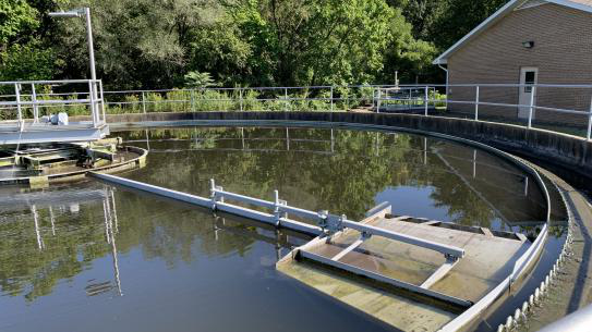 wastewater treatment center